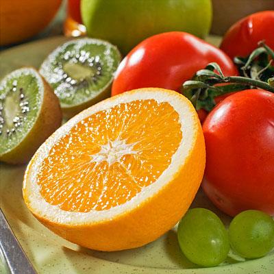 Ernährung mit Vitamin C gegen Pickel und Akne