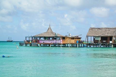 Die ABC-Insel Aruba mit kristallklarem Wasser