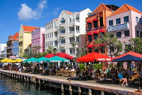 Willemstad auf der Insel Curacao