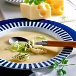 weiter zu - Käsesuppe mit Lauch