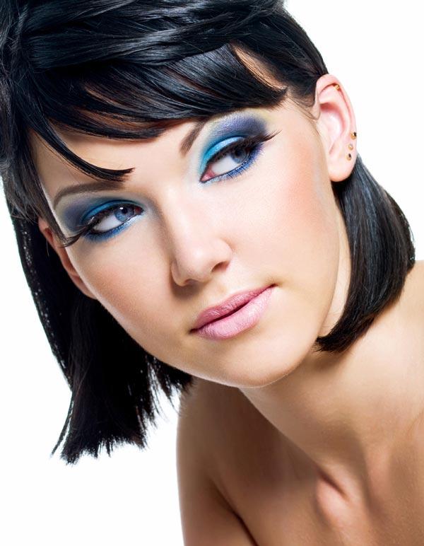 Blaues Augen Make Up Blaue Augen Schminken Schminkanleitung