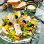 weiter zu - Fruchtiger Käsesalat
