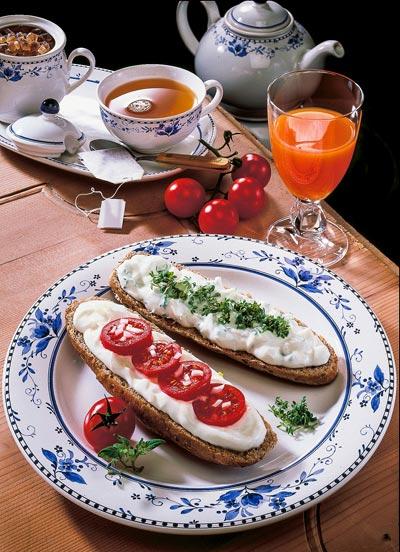 Beispiele für Frühstück zum Abnehmen