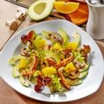 weiter zu - Pilzsalat mit Putenbrust