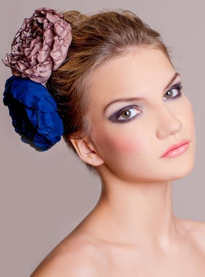 Haarschmuck mit Rosen