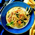 weiter zu Gerichte mit Spargel - Spargel Spaghetti