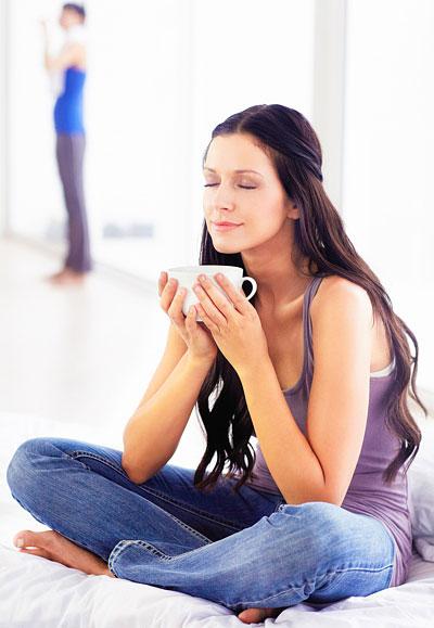 Stiefmütterchen Tee gegen Pickel und Akne
