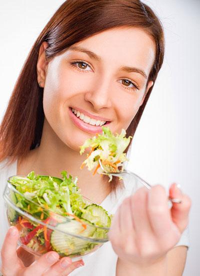 Lebensmittel mit Folsäure gegen Pickel und Akne