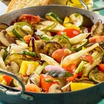 weiter zu - Mediterrane Gemüsepfanne