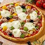 zum Pizza-Rezept - Thunfisch-Pizza