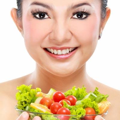 Ernährung & Lebensmittel gegen Falten