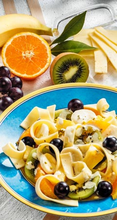 Abendessen - Fruchtiger Käsesalat