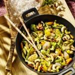 weiter zu - Gemüsecurry mit Cashew-Nüssen