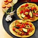 weiter zu - Gefüllte Pfannkuchen mit Gemüse