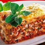 weiter zu - Vegetarische Lasagne