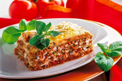 vegetarische lasagne vegetarische hauptgerichte. Black Bedroom Furniture Sets. Home Design Ideas