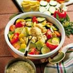 weiter zu - Vegetarischer Gemüseauflauf
