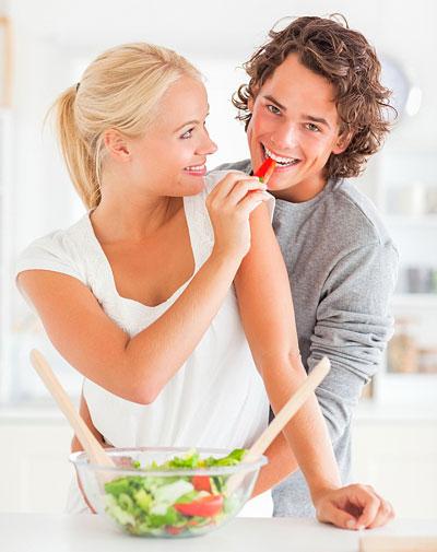 Basische Ernährung gegen Pickel und Akne