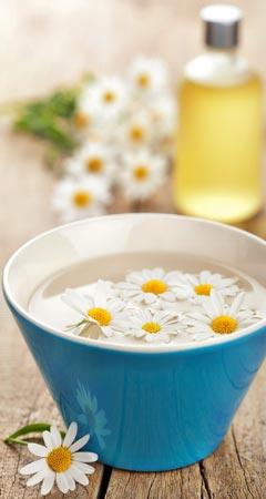 Kamille gegen Pickel, Akne, Mitesser und unreine Haut