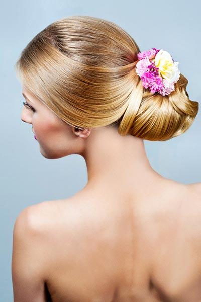 Blumen-Haarspange