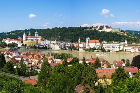 Reiseziele für Urlaub in Niederbayern - Passau