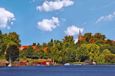 Urlaub in Schleswig-Holstein - Lauenburg, Schaalsee