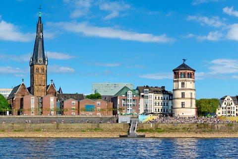 Die schönsten Städte in Nordrhein-Westfalen: Düsseldorf