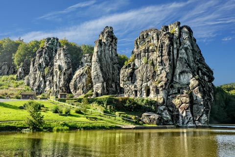 Sehenswertes in NRW: Teutoburger Wald - Externsteine