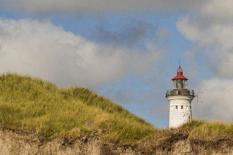 Holmsland Klit -  Leuchtturm Lyngvig
