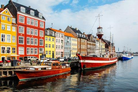 Reiseziele für Urlaub in Dänemark - Sehenswürdigkeiten in Dänemark