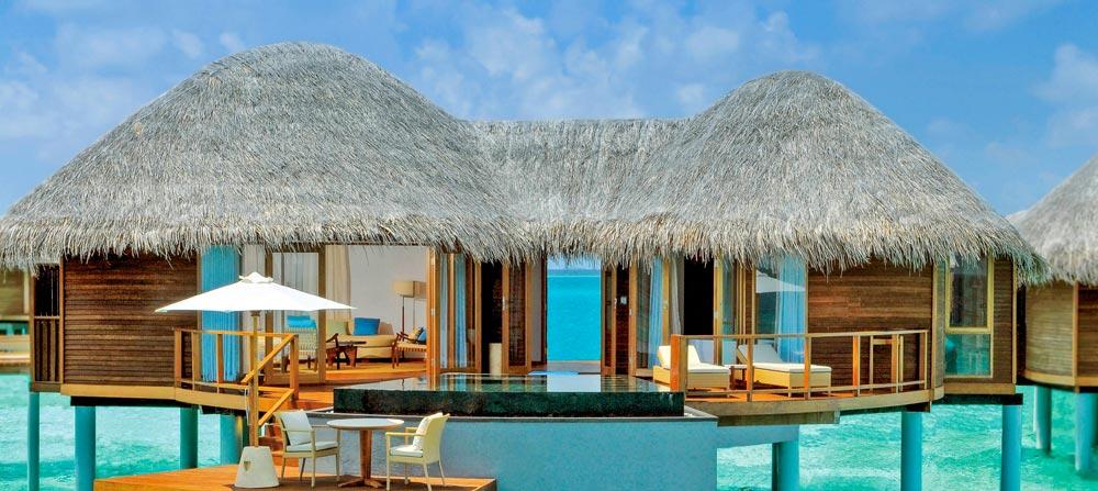 urlaub im wasserbungalow auf den malediven malediven. Black Bedroom Furniture Sets. Home Design Ideas