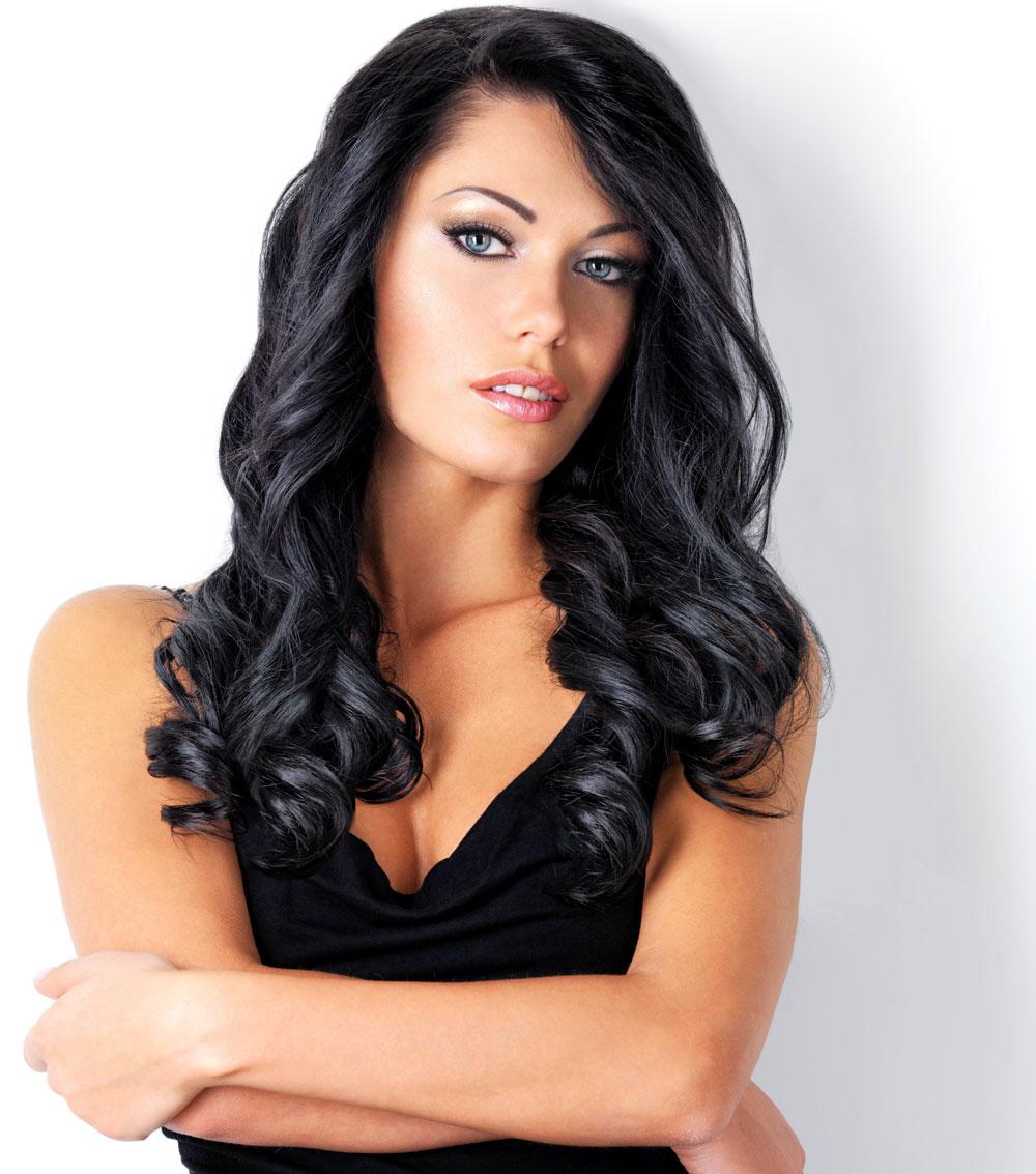 Lange Schwarze Haare Schöne Frisuren Für Lange Haare