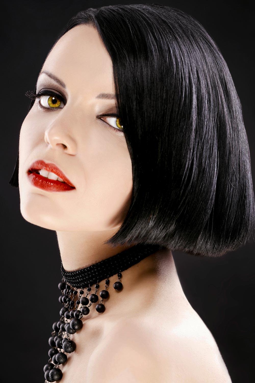 Frisuren mit tiefem seitenscheitel