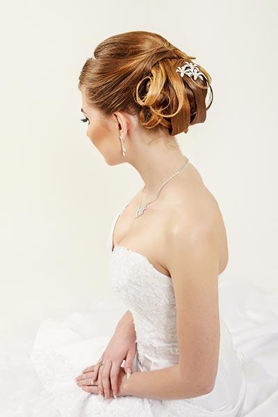 Haarschmuck für Braut und Hochzeit - Dezente Haarklammern
