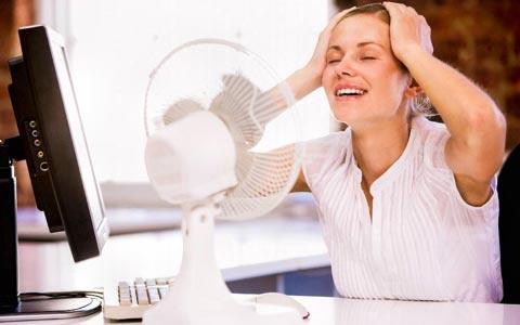 Hitzewallungen in den Wechseljahren