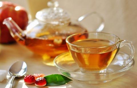 Mit Mate Tee abnehmen