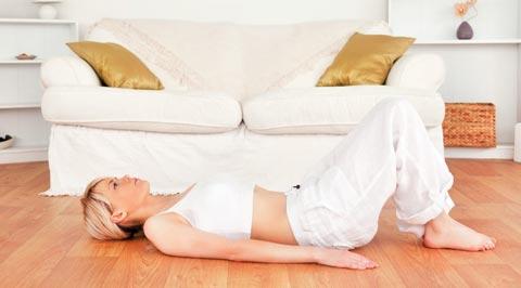 Übungen für Zuhause zum Abnehmen