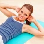 weiter zu - Sportübungen zum Abnehmen