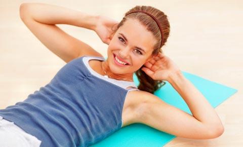 Sportübungen zum Abnehmen