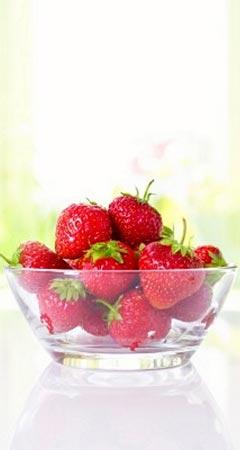 Abnehmen mit Erdbeeren