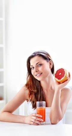 Abnehmen mit Grapefruitsaft