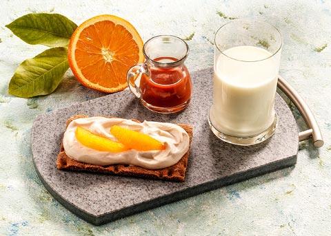 Buttermilch-Diät - 2. Tag: Frühstück - Sanddorn-Orangen-Snack