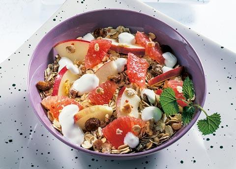 Buttermilch-Diät - 4. Tag: Frühstück - Konzentrationsmüsli