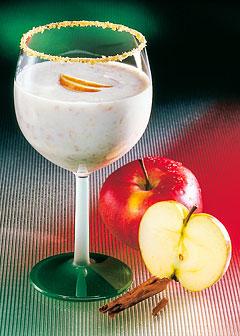 Detox-Diät - Kur 3. Tag: Zwischenmahlzeit - Apfeldrink mit Haferflocken