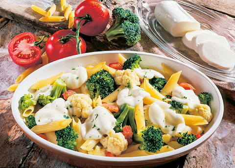 Detox-Diät - Kur 5. Tag: Mittagessen - Blumenkohl-Brokkoli-Gratin Siena