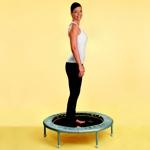 weiter zu - Übungen mit dem Trampolin