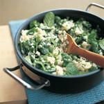 weiter zu fettarme Rezepte - Grünes Risotto