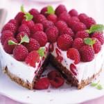 weiter zu LOGI Rezepte - Himbeer-Joghurt-Torte