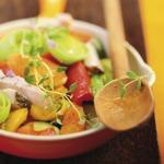 weiter zu LOGI Rezepte - Gemüsepfanne mit Putenbrust