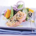weiter zu LOGI Rezepte - Lachsfilet mit Spinatsalat
